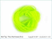 Red Tag - Fluo Chartreuse (5 m)