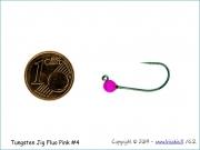 Volframinis galvakablis 3,8mm/0,60g (fluo pink) Size#4