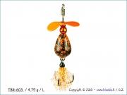 Turbinėlė (L) TBR603 / 4,75 g