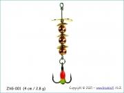 Žvangutis, tarškis ZVG-001 (4 cm / 2,8 g)