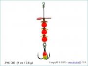 Žvangutis, tarškis ZVG-003 (4 cm / 2,8 g)