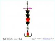 Žvangutis, tarškis ZVG-004 (4,4 cm / 2,5 g)