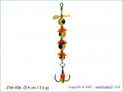 Žvangutis, tarškis ZVG-006 (5,4 cm / 2,6 g)