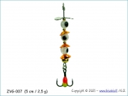 Žvangutis, tarškis ZVG-007 (5 cm / 2,5 g)