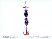 Žvangutis, tarškis ZVG-008 (6 cm / 4 g)