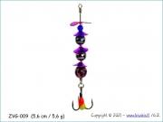 Žvangutis, tarškis ZVG-009 (5,6 cm / 5,6 g)