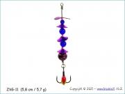Žvangutis, tarškis ZVG-011 (5,8 cm / 5,7 g)