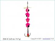 Žvangutis, tarškis ZVG-013 (6,5 cm / 4,7 g)