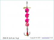 Žvangutis, tarškis ZVG-014 (6,4 cm / 6 g)