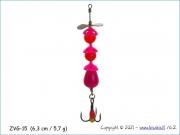 Žvangutis, tarškis ZVG-015 (6,3 cm / 5,7 g)
