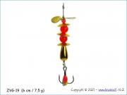 Žvangutis, tarškis ZVG-019 (6 cm / 7,5 g)
