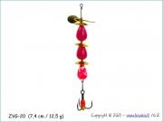 Žvangutis, tarškis ZVG-020 (7,4 cm / 12,5 g)